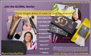 New Presenter's Kit - Younique by Thea 2016