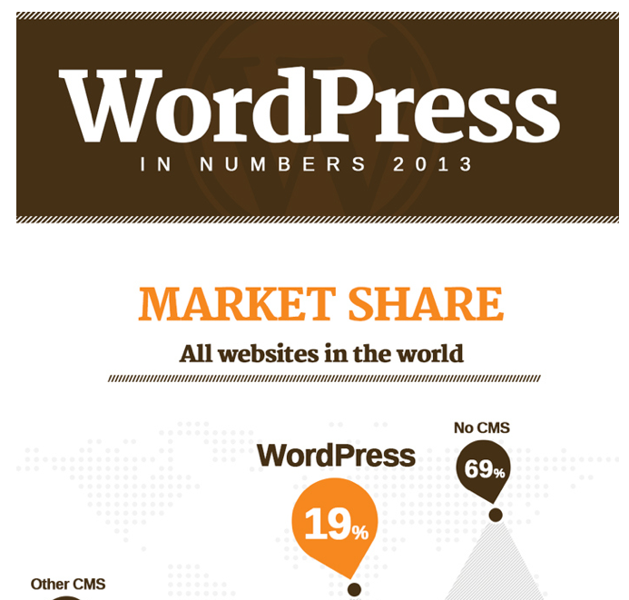 picture of top of WP infographic 2013