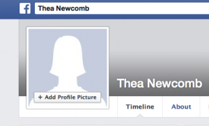 Thea Newcomb off Facebook