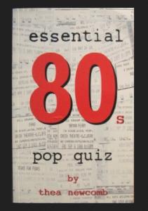 Book Cover - Essential 80s Pop Trivia