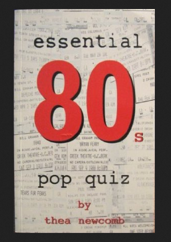 Book Cover - Essential 80s Pop Trivia