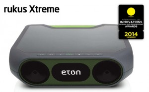 Rukus Extreme from Eton - A Bluetooth Wirless Speaker
