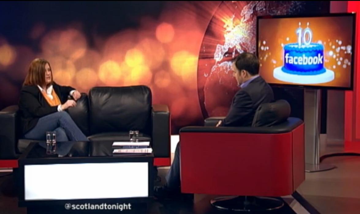 Thea Newcomb & John McKay on STVs Scotland Tonight