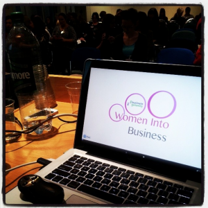 Thea Newcomb | Women Into Business Glasgow | WiB March 18 2014
