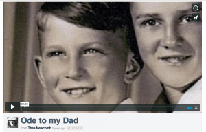 ode to my dad video on vimeo - by thea newcomb