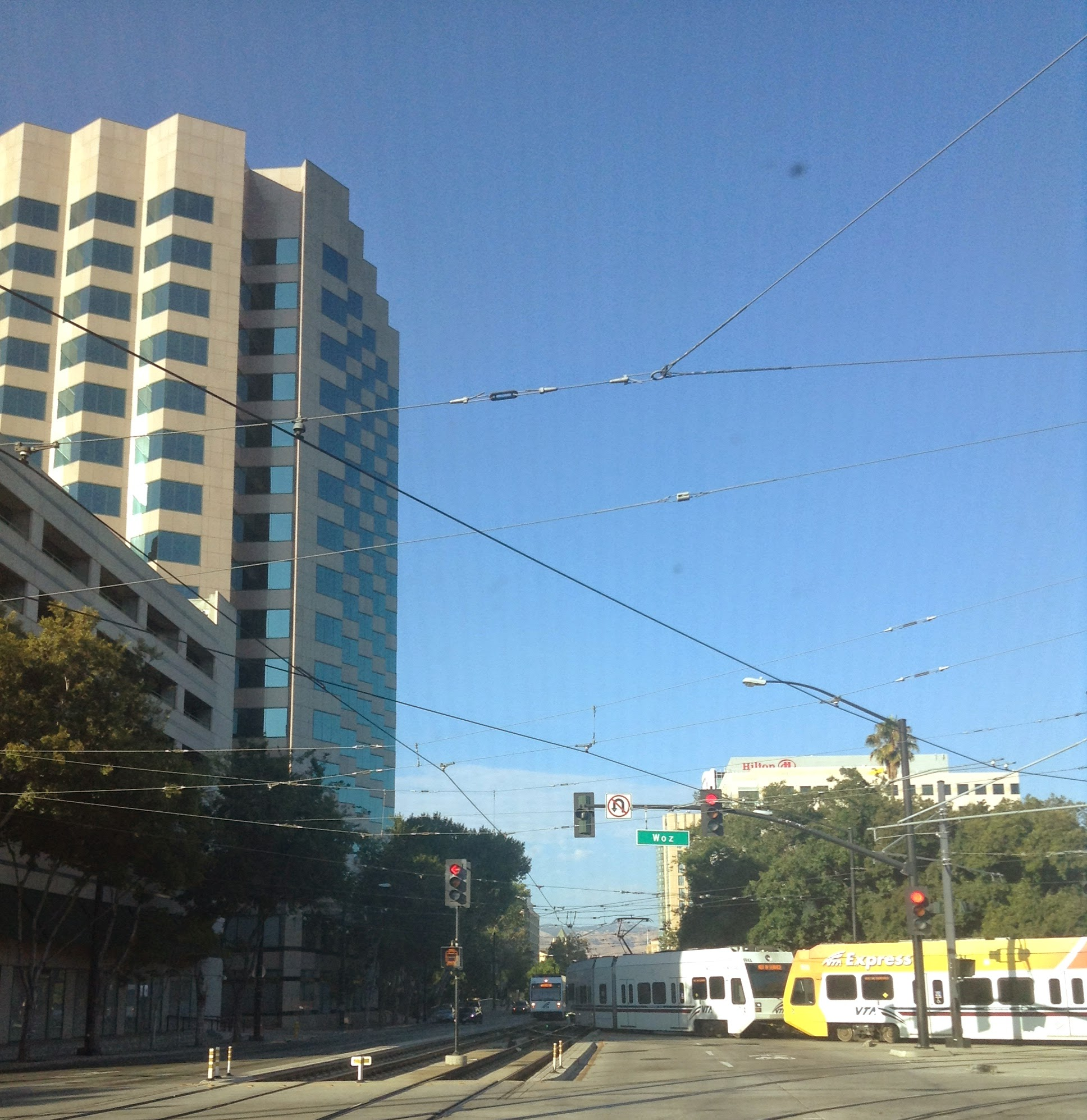 Downtown San Jose CA - on the way to Tech In Motion Meetup