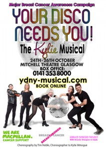 Your Disco Needs You at the Mitchell Theatre Glasgow Oct 2014