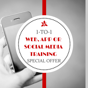 One to One Web and Social Media Training in Glasgow and Central Scotland