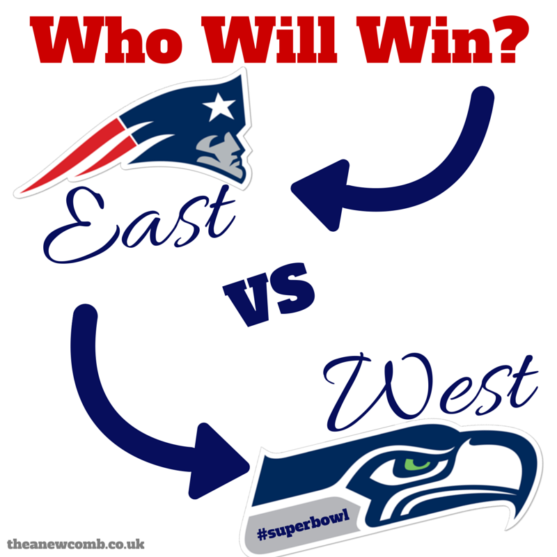 Super Bowl Sunday - East Vs West - Who will win the Super Bowl?