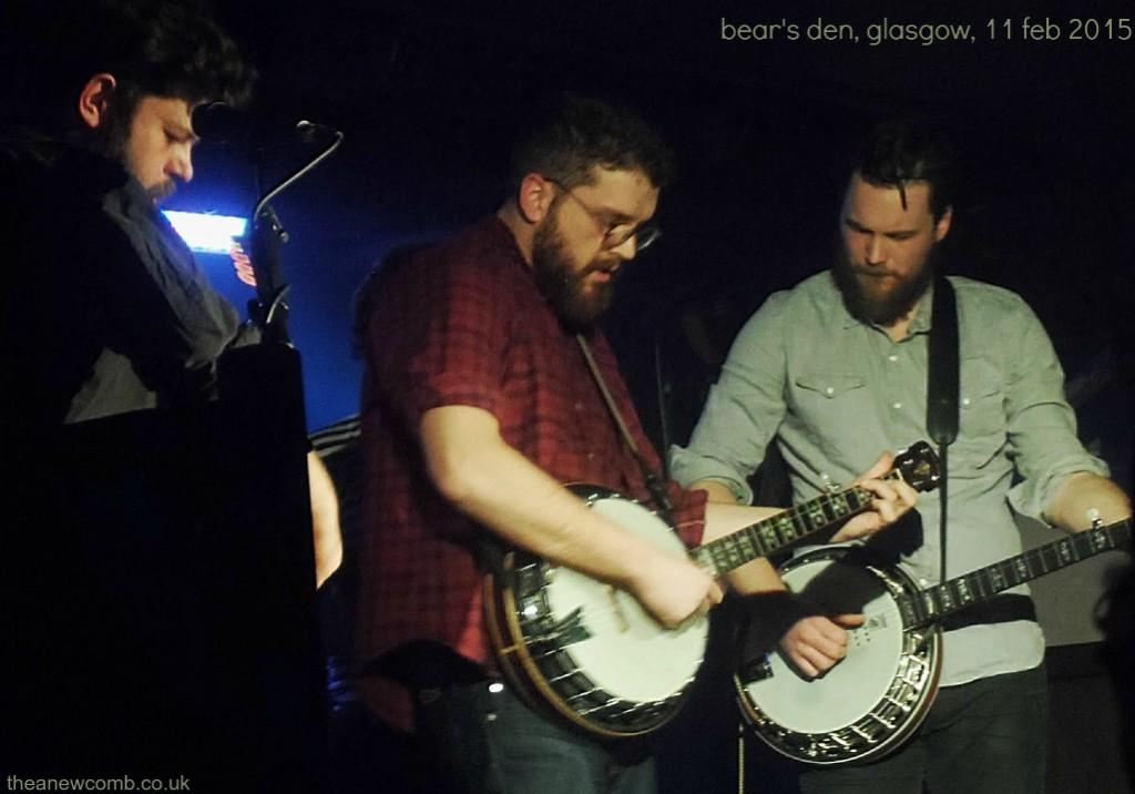 Bear's Den Glasgow Oran Mor
