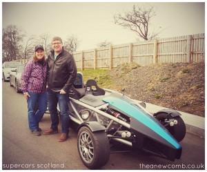 Ken and Thea | Supercars Scotland | Mar 2015