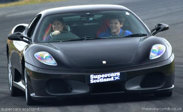 Thea Newcomb - Ferrari - Supercars Scotland