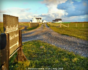 Rockvale Guest House, Isle of Tiree Scotland. Thea Newcomb May 2015
