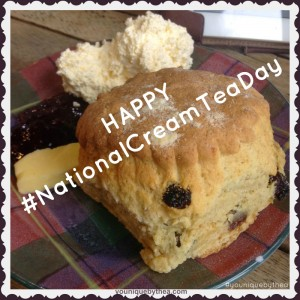 It's #nationalcreamteaday