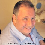 Domain and SEO expert Tommy Butler speaks at the June #29social