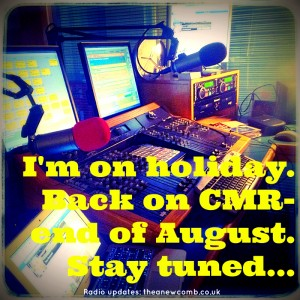 Taking a break from my radio show - Tune in to hear past shows