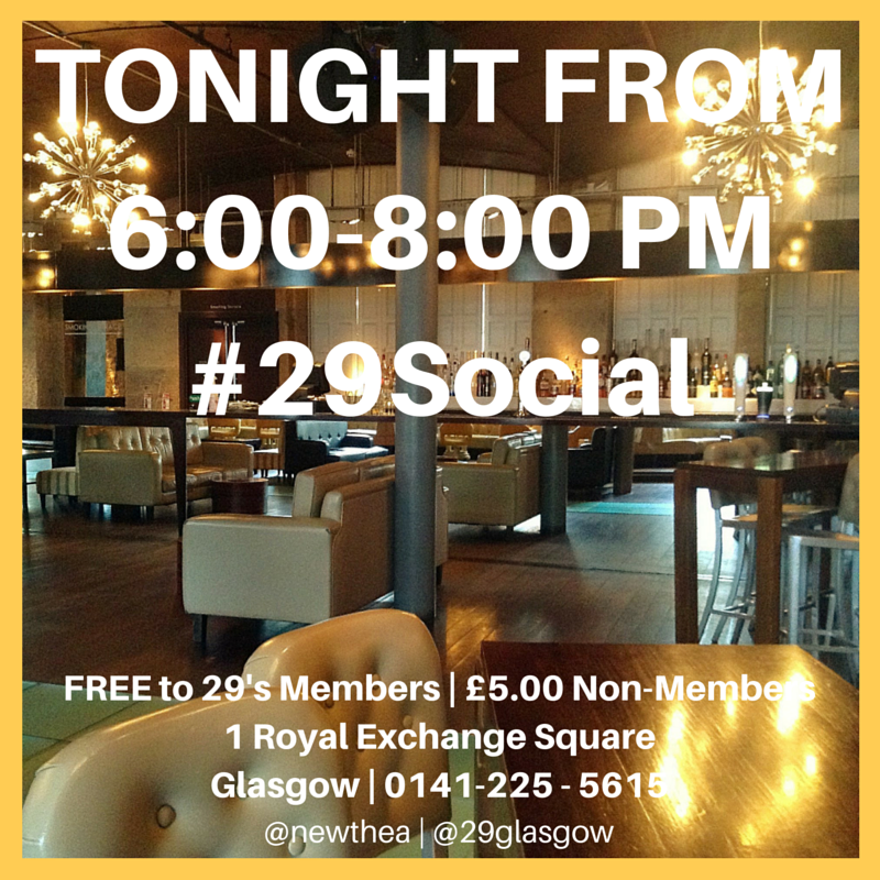 Join us for some informal networking #29Social - Sept 20 2015.