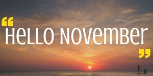 Hello November from theanewcomb.co.uk