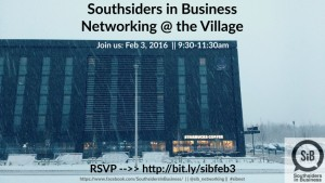 Join us for Southsiders in Business - Feb 3, 2016