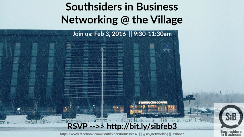 SiB: Join us for Southsiders in Business - Feb 3, 2016