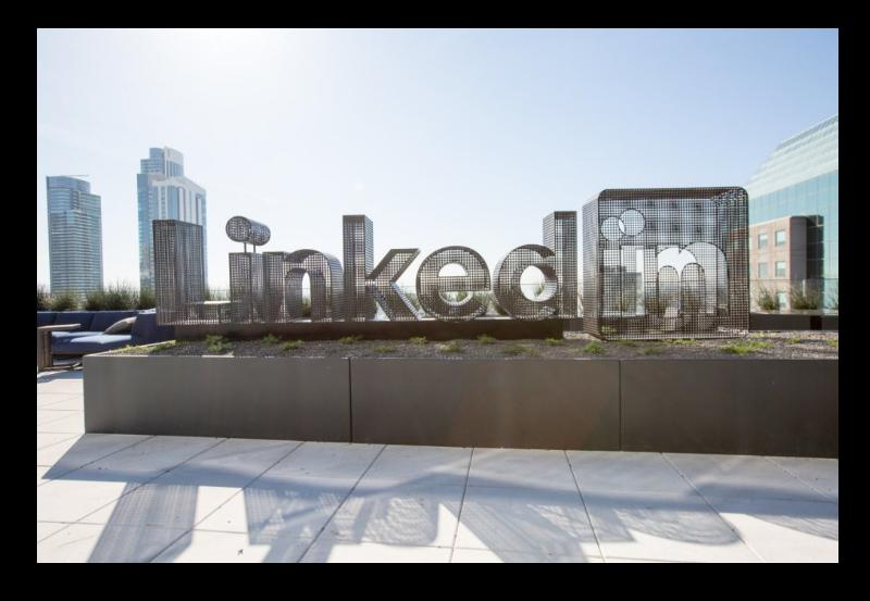 Linkedin rooftop SF.