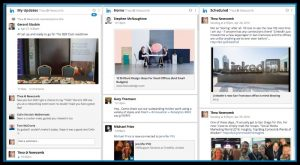 Use tools like HootSuite to schedule Linkedin posts