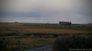 Rainbow View at Breakfast 5 Nunton B&B, Nunton Uist
