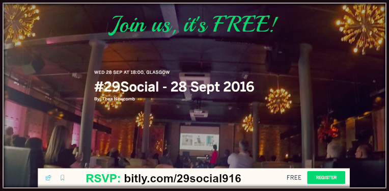 Click to book #29Social - Sept 28 2016