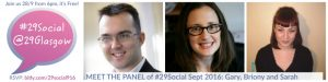 The Panel for #29Social Sept 2016