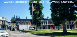 WB Hollywood, Burbank, Studio Tour - July 2016