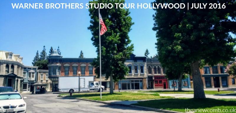 WB Hollywood, Burbank, Studio Tour - July 2016