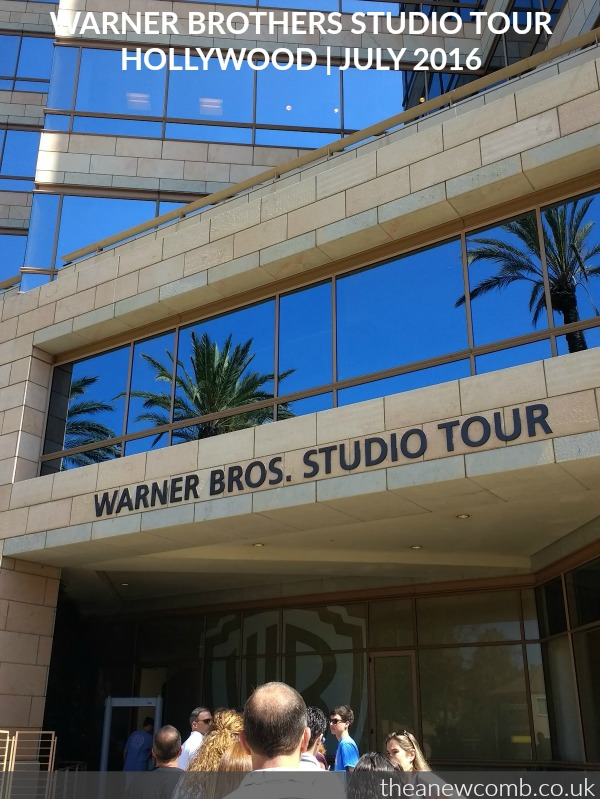 WB studio tour hollywood