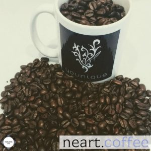 Neart Coffee - beans in Younique by Thea mug...