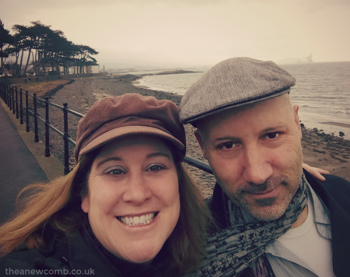 Neil and Thea in Largs - Feb 2017
