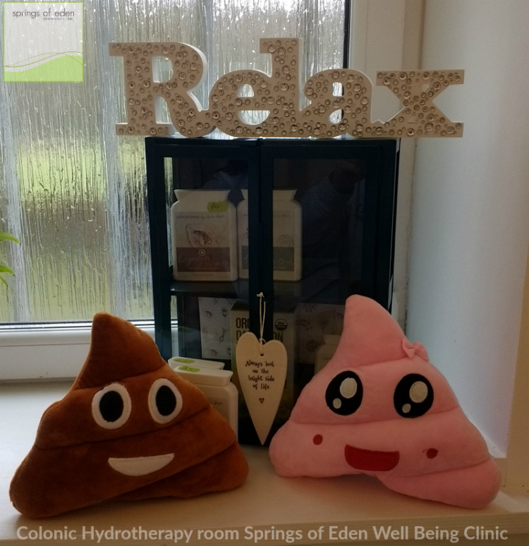 Poo Cushions at Springs of Eden Well Being Clinic, Out side Glasgow