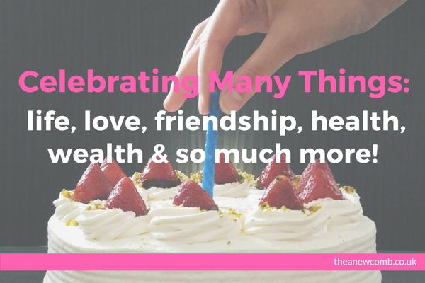 Celebrating Many Things