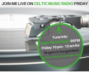 Thea Newcomb on the Radio - Celtic Music Radio November 2017