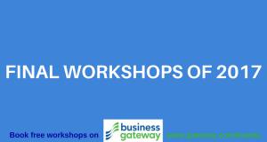 Final Business Gateway Workshops 2017