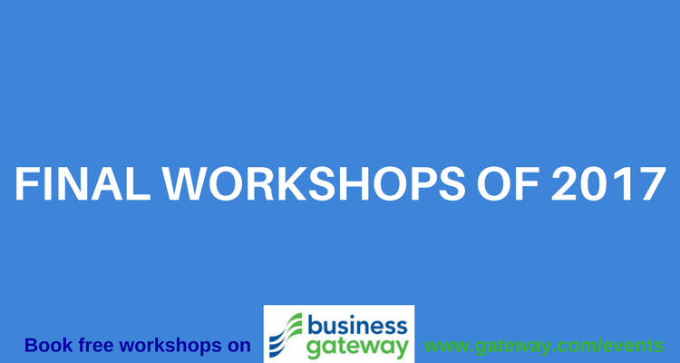Final Business Gateway Workshops 2017