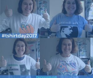 #tshirtday 2017 Thea's band tees - Picture two
