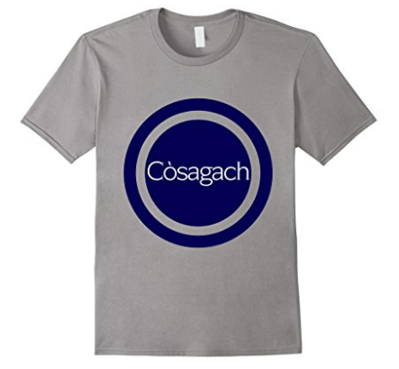 Original Cosagach t-shirt design by Thea Newcomb