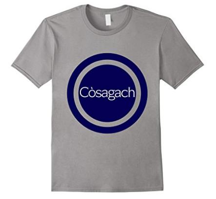 Original Cosagach t-shirt design by Thea Newcomb