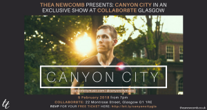 Canyon City - Live in Glasgow Feb 5, 2018