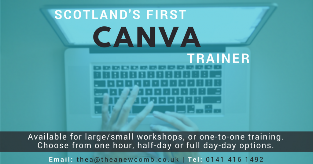 Thea Newcomb - Canva trainer in Scotland