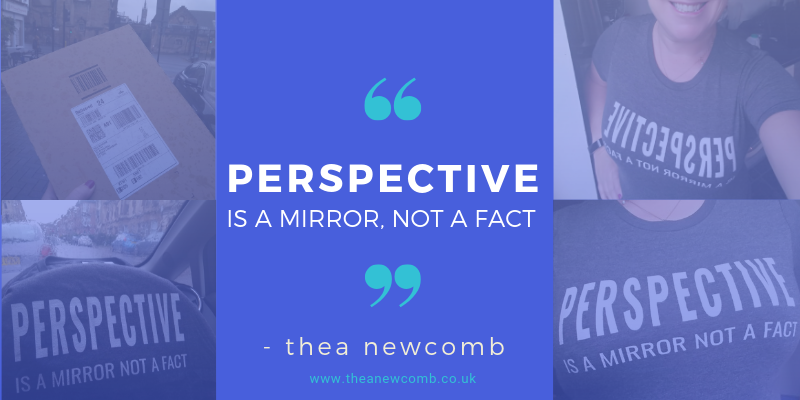 Perspective is a Mirror not a Fact - Thea Newcomb - Just say NO to copycats!