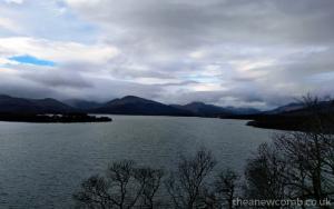 Balmaha - views of Loch Lomond Scotland from the hills