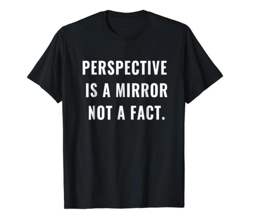 Perspective is a Mirror Not a Fact
