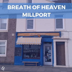 Breath of Heaven, Millport, Isle of Cumbrae Scotland by Thea Newcomb