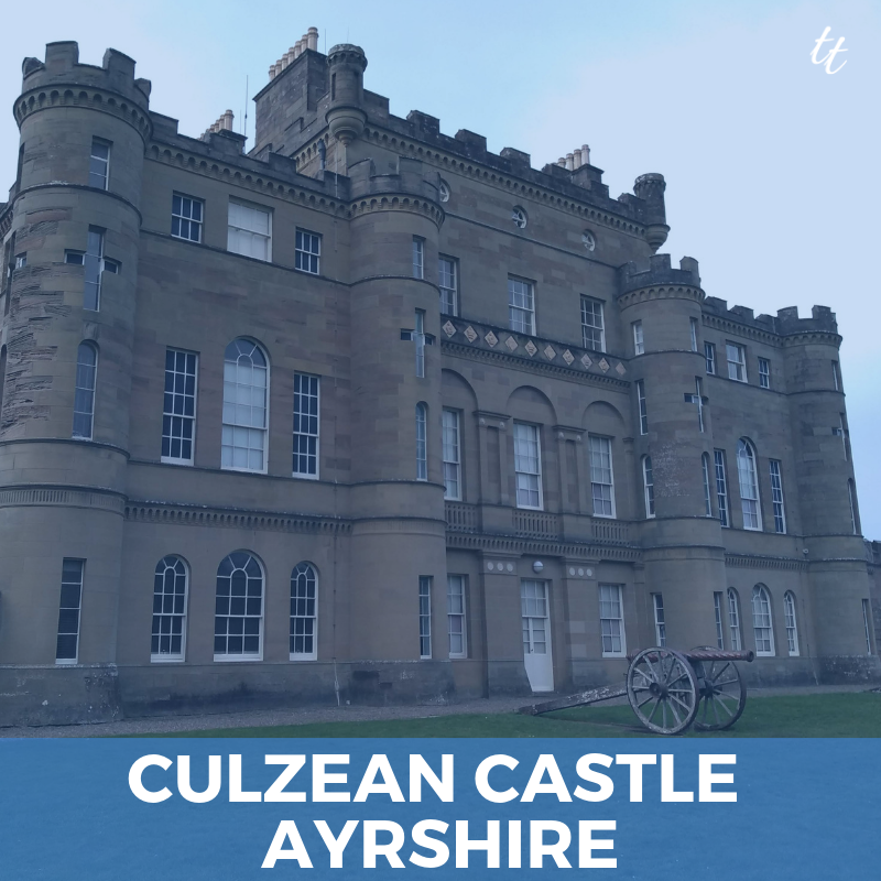 Culzean Castle Ayrshire - by Thea Newcomb