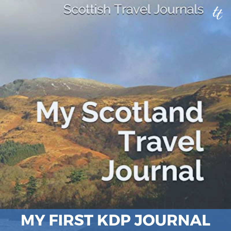 Buy My Scotland Travel Journal